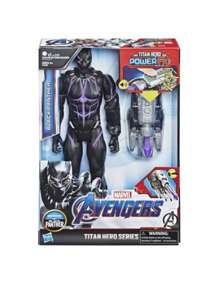 Avengers - Figurine Black Panther Titan Hero Power FX 30 cm