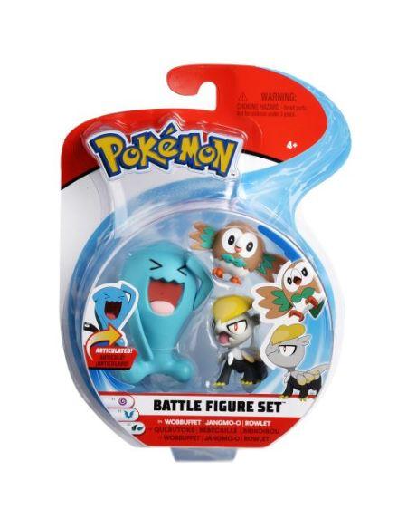 Pack de 3 figurines Pokémon