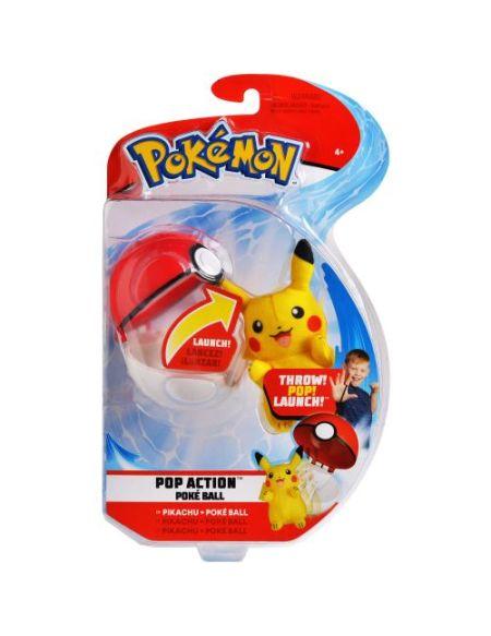 Lanceur Poké ball + Peluche 6 cm - Pokémon - Otaquin