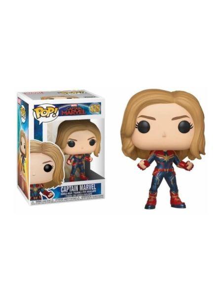 Figurine Funko Pop Marvel Captain Marvel Pop 1 avec ou sans masque Modèle aléatoire