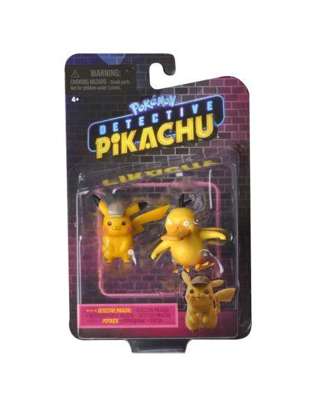 Figurines Pokémon Pikachu et Bulbizarre