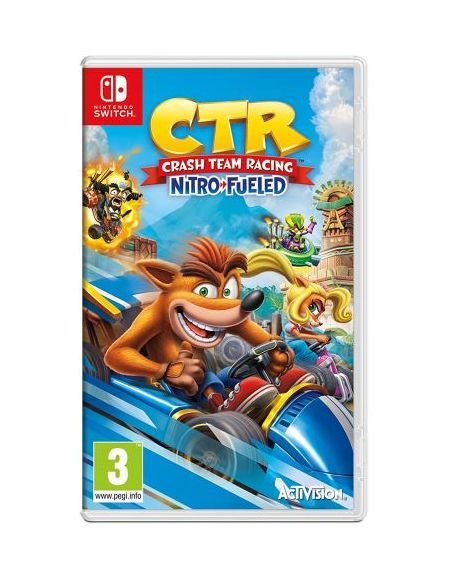 Crash Bandicoot Team Racing Nitro Fueled Nintendo Switch