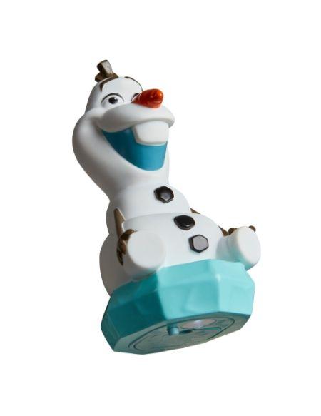 Veilleuse et lampe de poche Olaf 2-en-1 La Reine des Neiges