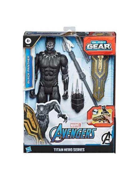 Avengers - Figurine Blast Gear Titan Hero - Black Panther