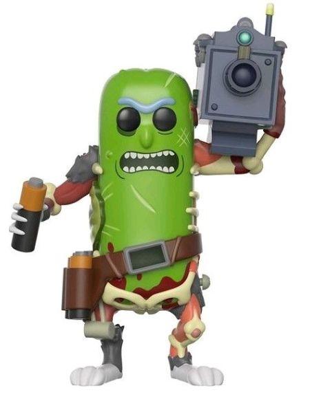 Figurine Funko Pop! N°332 - Rick et Morty - Pickle Rick avec laser