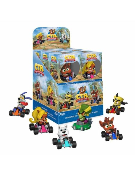 Figurine Mystere - Crash Bandicoot S3 - Assortiment Mystery Mini 12 pieces