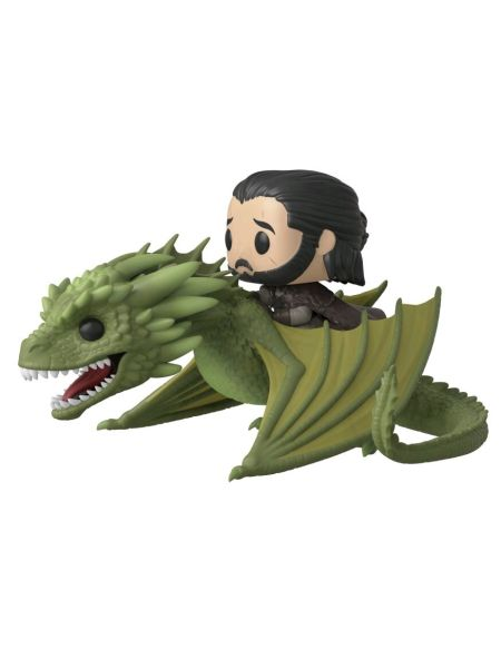 Figurine Funko Pop! Ndeg67 - Game Of Thrones - Jon Snow Avec Rhaegal