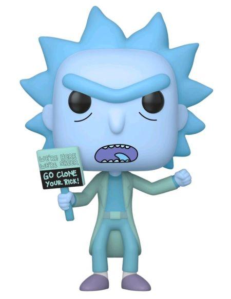Figurine Funko Pop! N°659 - Rick Et Morty - Clone De Rick En Hologramme