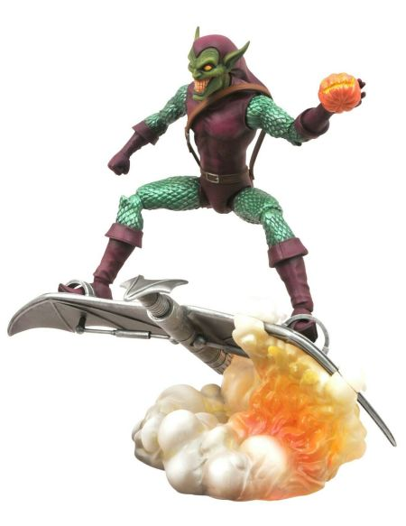 Statuette Diamond Select - Spider-man - Green Goblin 18 Cm