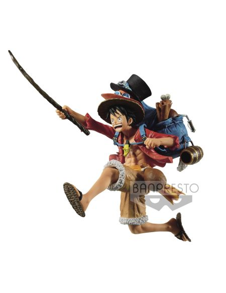 Figurine - One Piece - Three Brothers Figure(a:monkey.d.luffy)