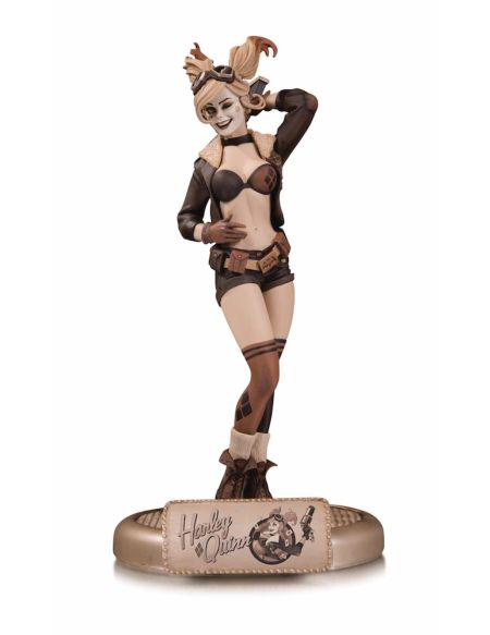 Statuette DC Collectibles - DC Comics - Bombshells Harley Quinn 27 cm