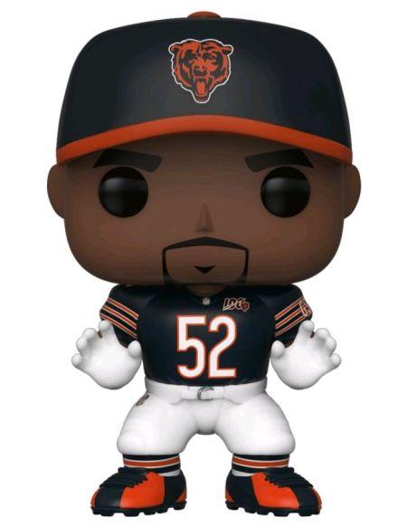 Figurine Funko Pop! N°126 - NFL : Bears - Khalil Mack