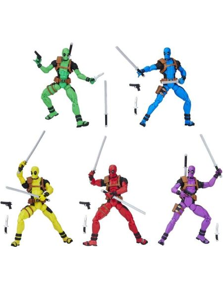 Figurines - Marvel Legends - Rainbow Squad Deadpool