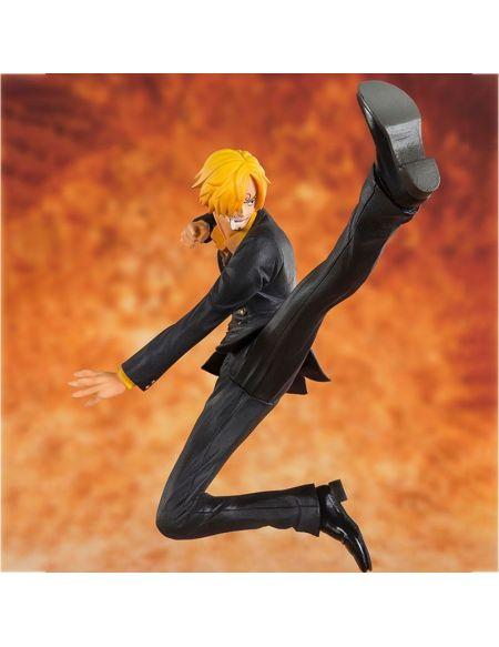 Figurine Figuarts Zero - One Piece - Sanji La Jambe Noire