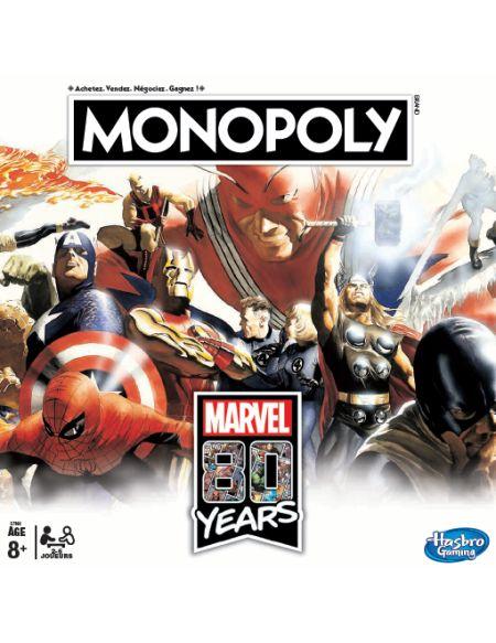 Monopoly - Marvel - Marvel 80th Anniversary