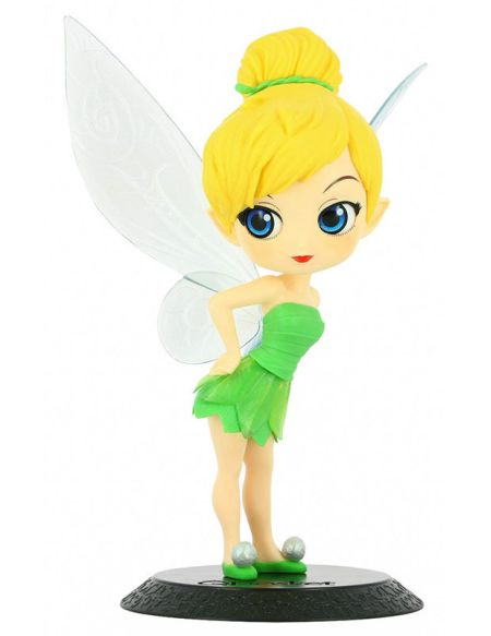 Figurine Q Posket - Disney Character - Tinker Bell - Robe En Feuille - (ver.a)