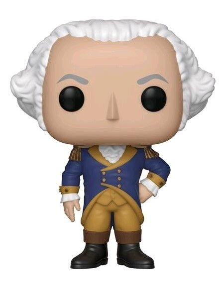 Figurine Funko Pop! N°09 - American History - George Washington