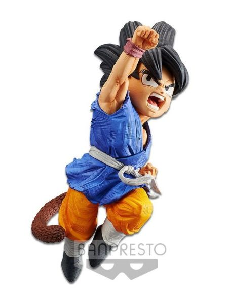 Figurine - Dragon Ball Gt : L'attaque Du Dragon - Sangoku