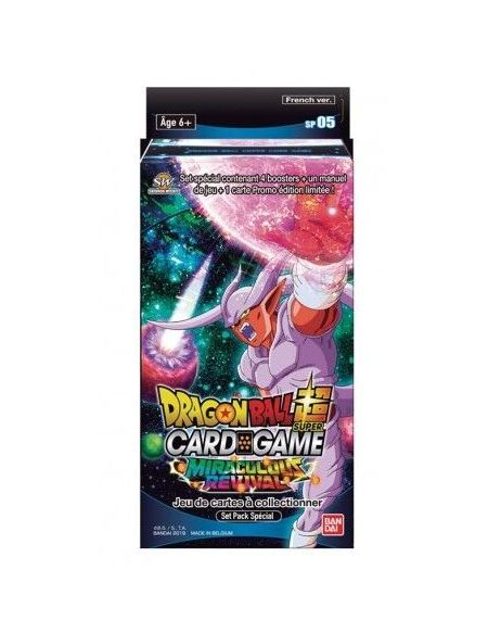 Cartes - Dragon Ball Super - Spécial pack 5