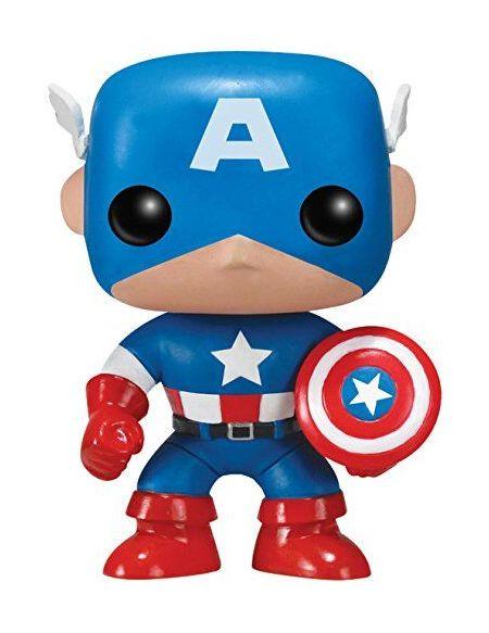 Figurine Funko Pop! Ndeg06 - Captain America - Captain America