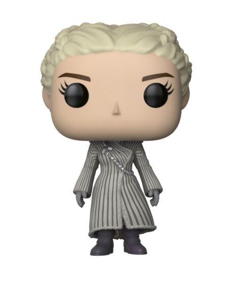 Figurine Funko Pop! N°59 - Game of Thrones - S8 Daenerys Manteau Blanc