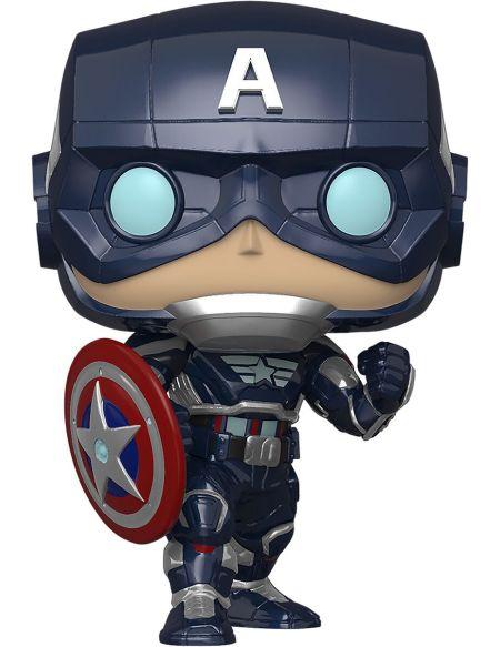 Figurine Funko Pop! N°627- Avengers Le Jeu - Captain America