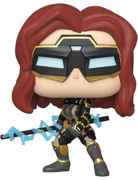 Figurine Funko Pop! N°630 - Avengers Le Jeu - Black Widow (c)