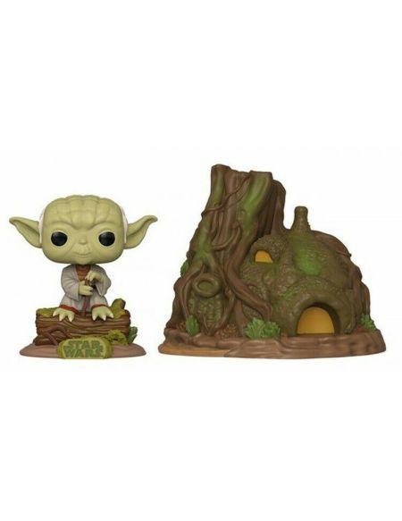 Figurine Funko Pop! Town N°11 - Star Wars - Hutte De Yoda