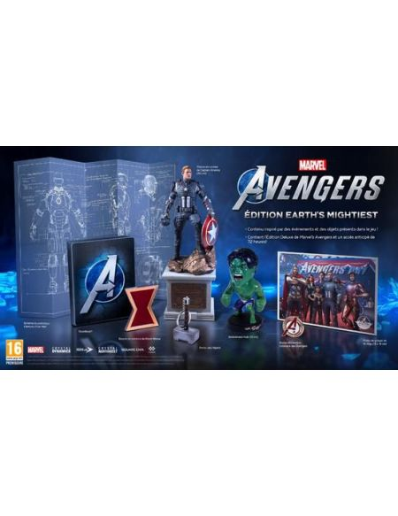 Marvel's Avengers Earth Mightiest Edition Collector