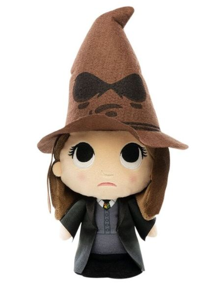 Peluche Supercute - Harry Potter - Hermione avec Choixpeau