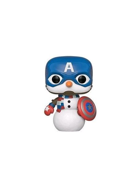 Figurine Funko Pop! Ndeg532 - Marvel Holiday - Captain America