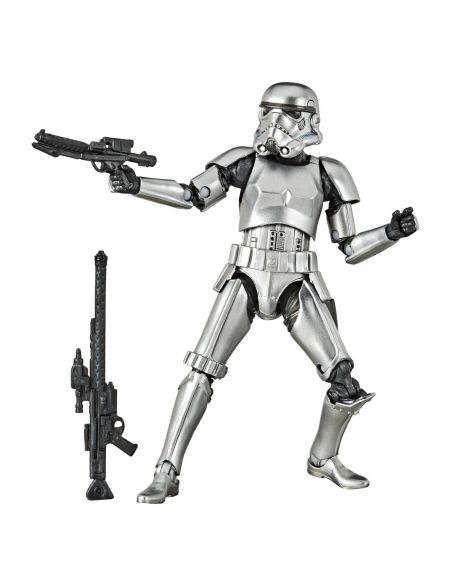 Figurine - Star Wars The Black Series - Carbon 2nd Metallic Stormtrooper