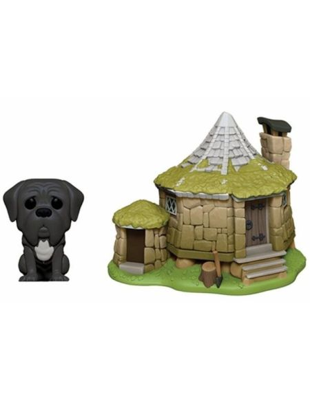 Figurine Funko Pop! N°08 - Harry Potter - Cabane D'hagrid Avec Crockdur