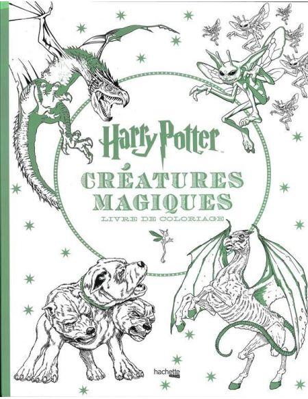 Livre - Harry Potter - Créatures magiques coloriage