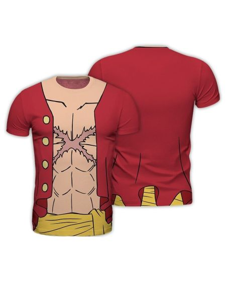 T-shirt Homme - One Piece - Luffy New World - Taille L