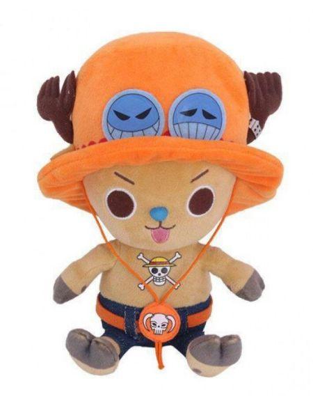Peluche Sakami - One Piece - Chopper X Ace