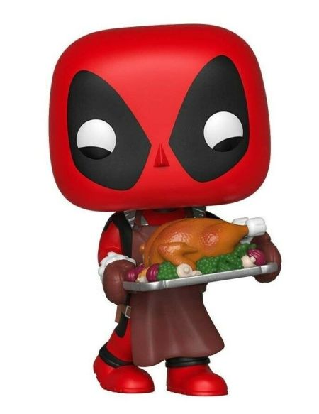 Figurine Funko Pop! Ndeg534 - Marvel Holiday - Deadpool