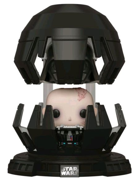 Figurine Funko Pop! Deluxe N°365 - Star Wars - Dark Vador Dans Chambre De Médita