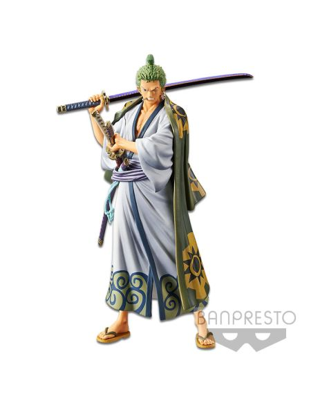 Figurine The Grandline Men Dxf - One Piece : Wanokuni - Zoro