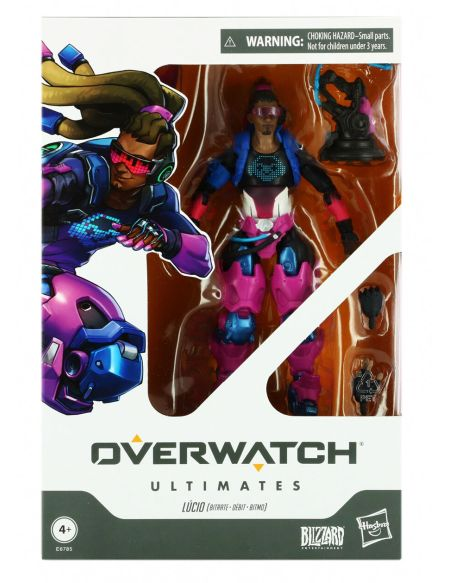 Figurine Ultimates - Overwatch - Lucio (exclusivite Micromania)