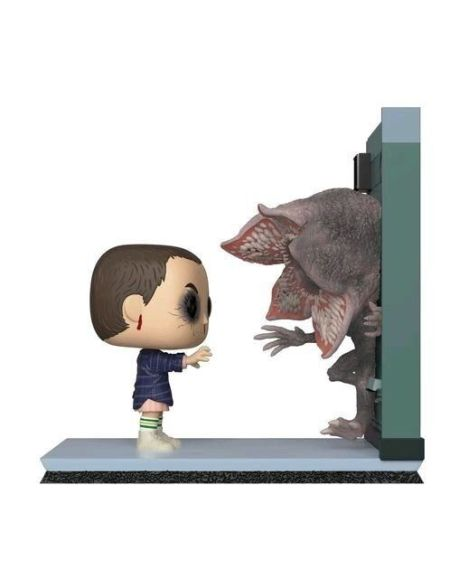 Figurine Funko Pop! Moment N°727 - Stranger Things - Eleven et Demogorgon