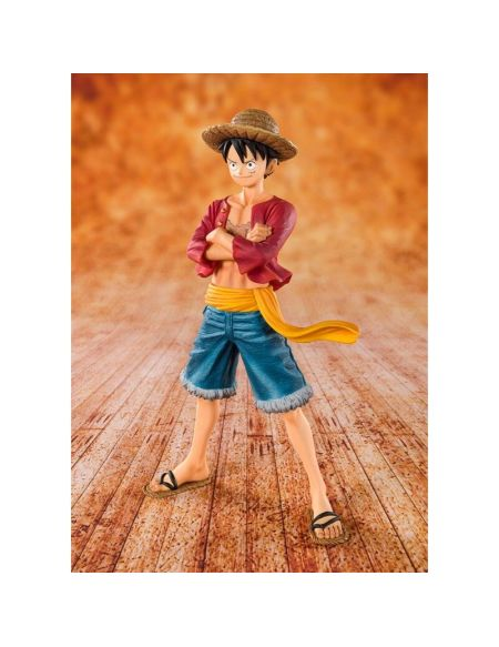 Figurine Tamashii Nations - One Piece - Zero Straw Hat Luffy