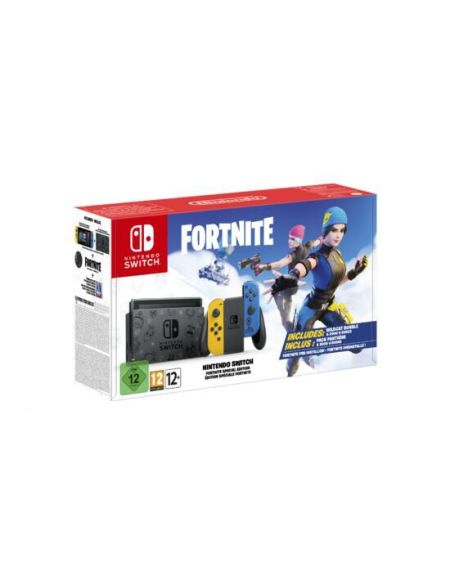 Nintendo Switch Fortnite Preinstalle Edition Speciale