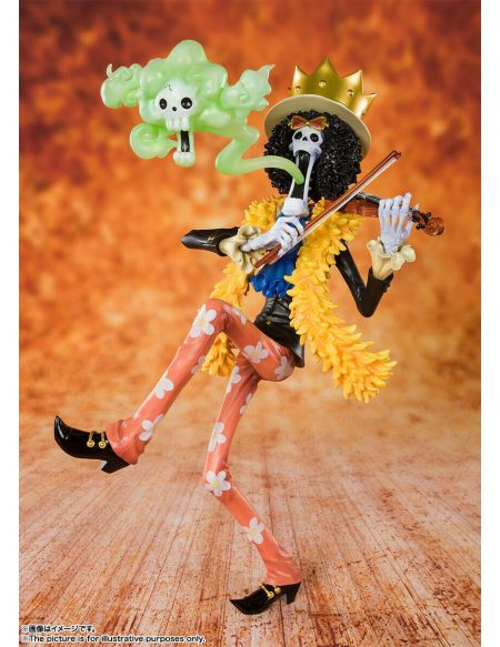 Figurine Tamashii Nations - One Piece - Zero Humming Brook Bonus