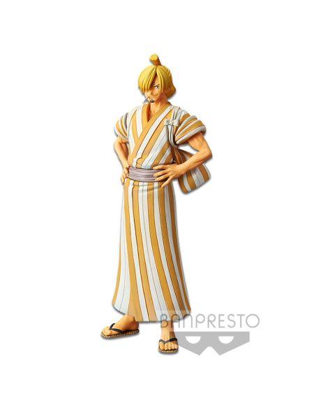 Figurine - Dfx - One Piece - The Grandline Men - Wanokuni