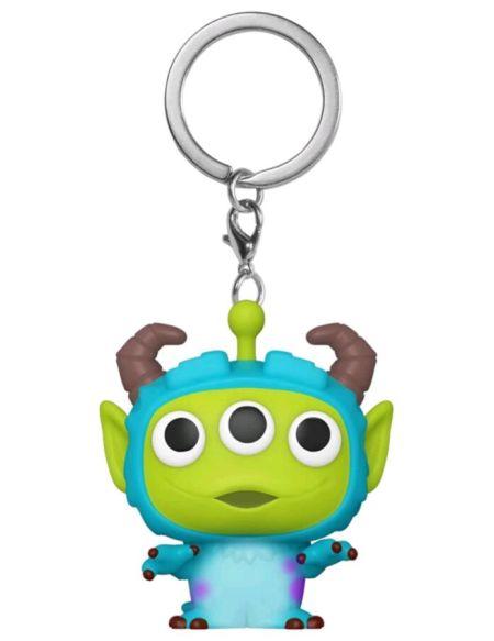 Porte-cles Funko Pop! - Pixar - Alien en Sulley