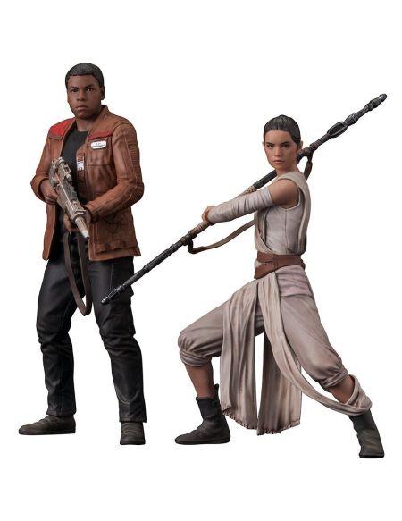 Statuettes - Star Wars Episode VII - Twin Pack Rey Finn Artfx+
