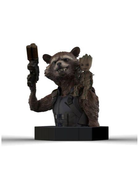 Buste - Les Gardiens de la Galaxie Vol 2 - Rocket Raccoon Groot 16 cm