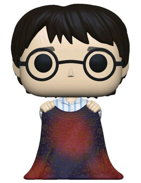 Figurine Funko Pop! N°112 - Harry Potter - Harry Avec Cape D'invisibilité