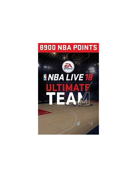 Dlc NBA Live 18 Ultimate Team 8 900 Pts Xbox One